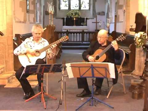 Raymond Burley and John Feeley play Sor - Op.34