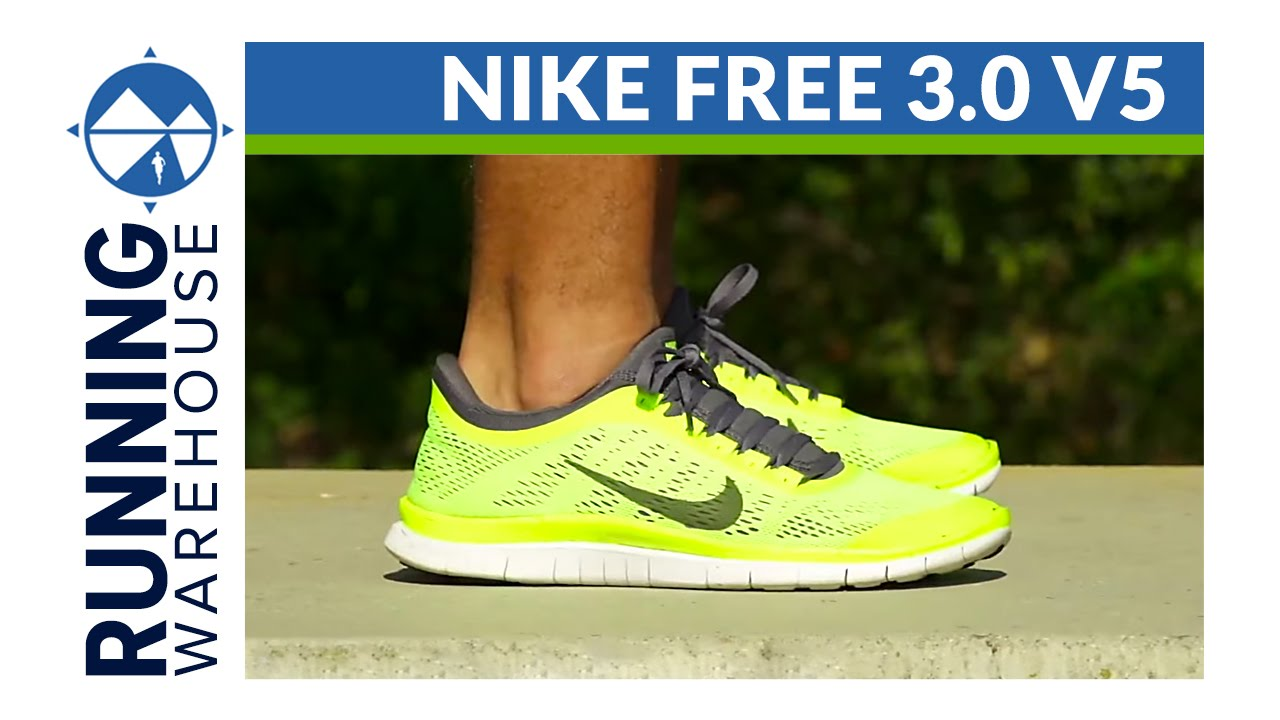 new styles bc152 ce083 Nike Free 3.0 v5 Shoe Review - YouTube