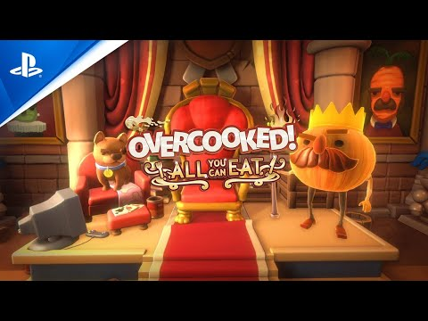 Overcooked! All You Can Eat - Launch Trailer | PS5 jugar