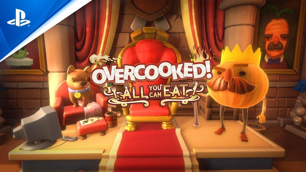 Overcooked! All You Can Eat Edition - العرض التشويقي لإطلاق اللعبة