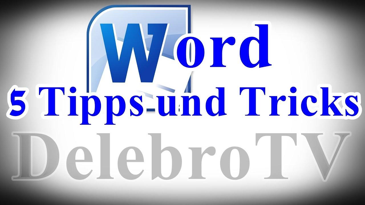 Microsoft Office Word 2010 TIPPS und TRICKS - Helpdesk [German/Full ...