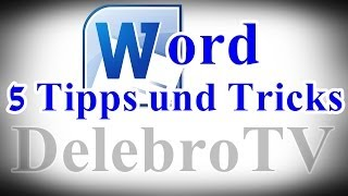 Microsoft Office Word 2010 TIPPS und TRICKS - Helpdesk [German/Full-HD]