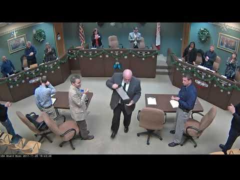 2017 11-20 Board Meeting (VIDEO)