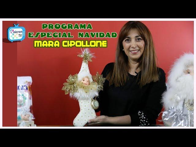 NICRON TV - Especial Navidad con Mara Cipollone