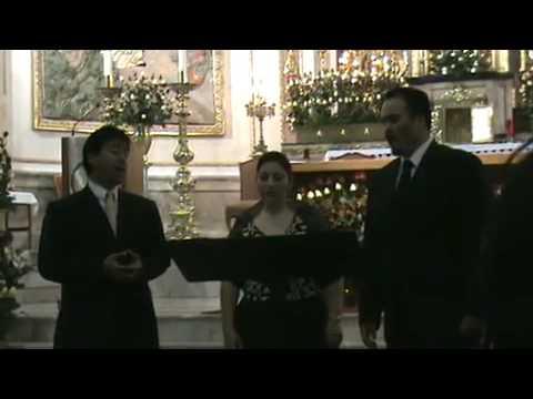 """Laura Urich, Juan Carlos Barreto, Arkeel Tamayo cantan """"La Negra Noche"""""""