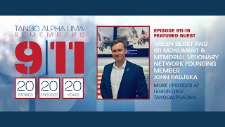 SE291119 Tango Alpha Lima remembers 9/11 with 9/11 Visionary Network Founding Member John Paluska