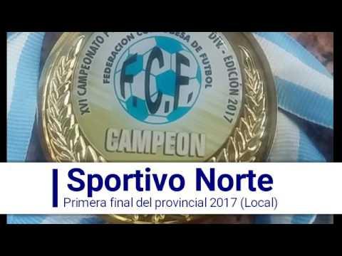 Gol del Norte - 1era Final provincial 2017