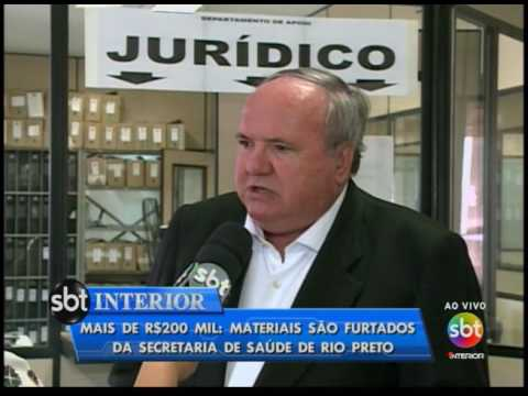 Mais de R$200 mil: materiais são furtados da Secretaria de Saúde de Rio Preto