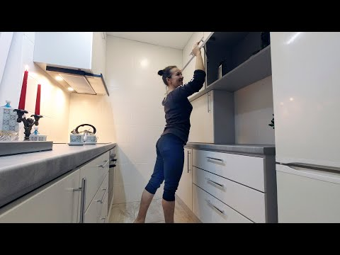 ⚫ Practical Kitchen 4.5 m² Do It Yourself, Step by Step. HOW to build a Cheap House? # 23