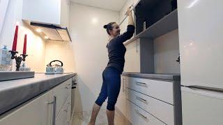 ⚫ КАК Сделать Практичную Кухню на 4.5м² Своими Руками. КАК построить Дешевый Дом? #23