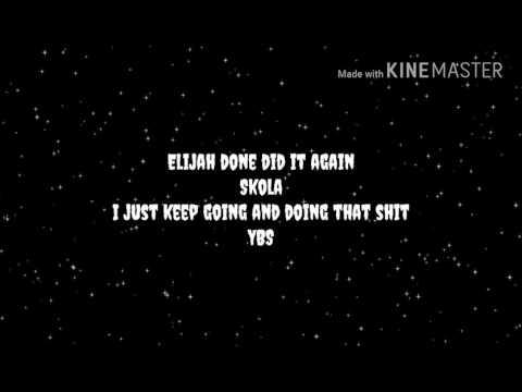 """YBS Skola """"Shinning"""" Lyrics"""