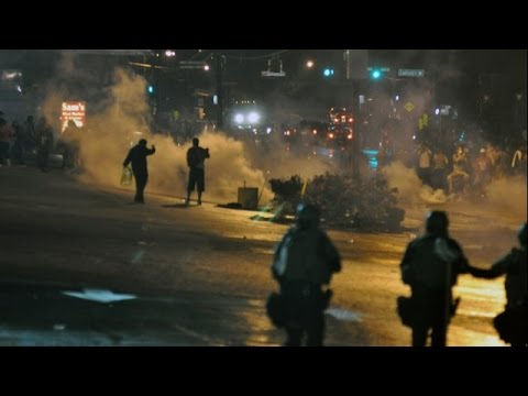 LIVE: Tensions rise in Ferguson following shooting of police officers