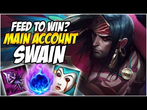 FEED TO WIN? ON NEW SWAIN - Climb to Master S8 | League of Legends