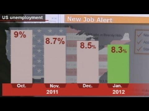 Безработица в США - самая низкая за три года