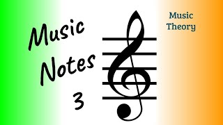 #5 Music Theory for beginners - Notes treble clef C D E F G A B C