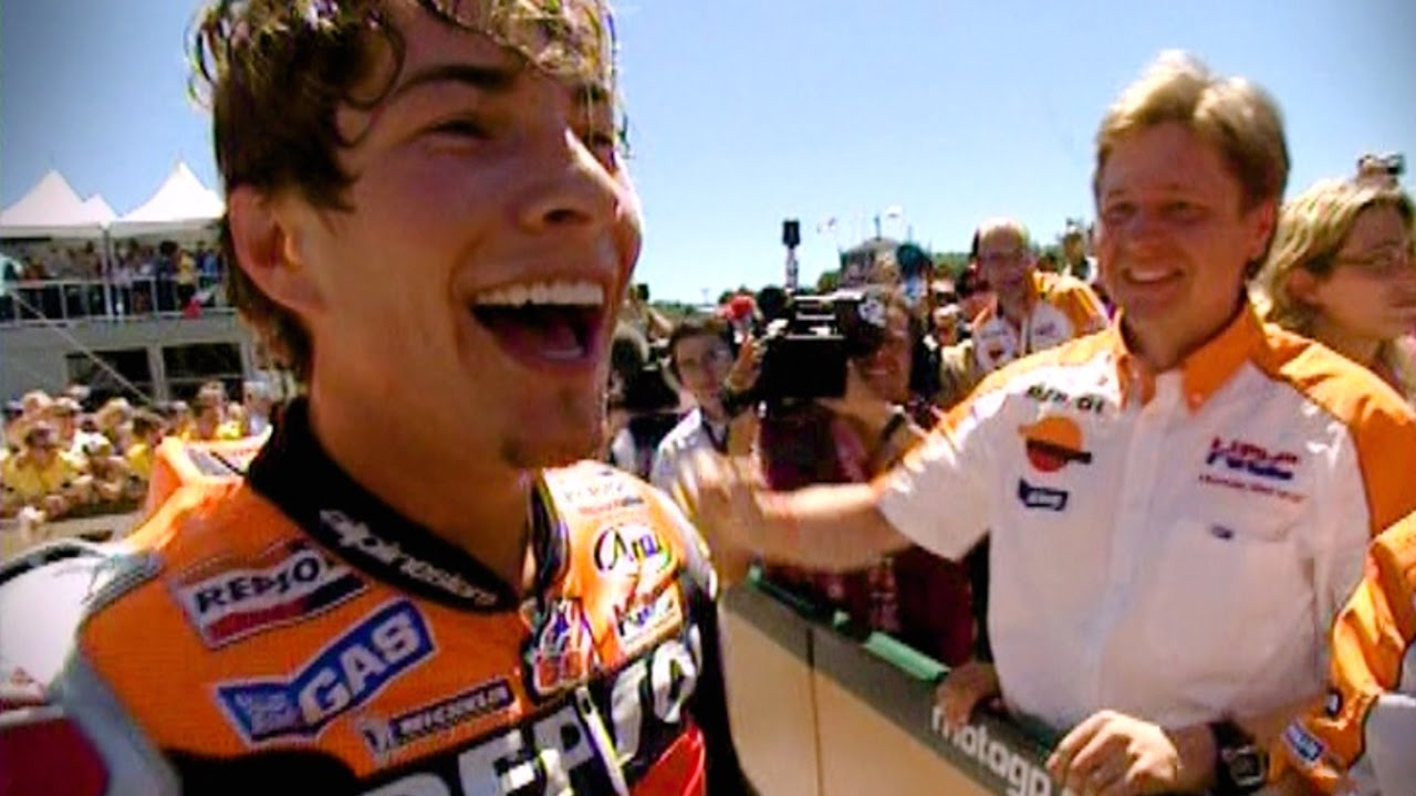 Nicky Hayden, the French Open, and Pathé News hovering over Wembley | Classic YouTube