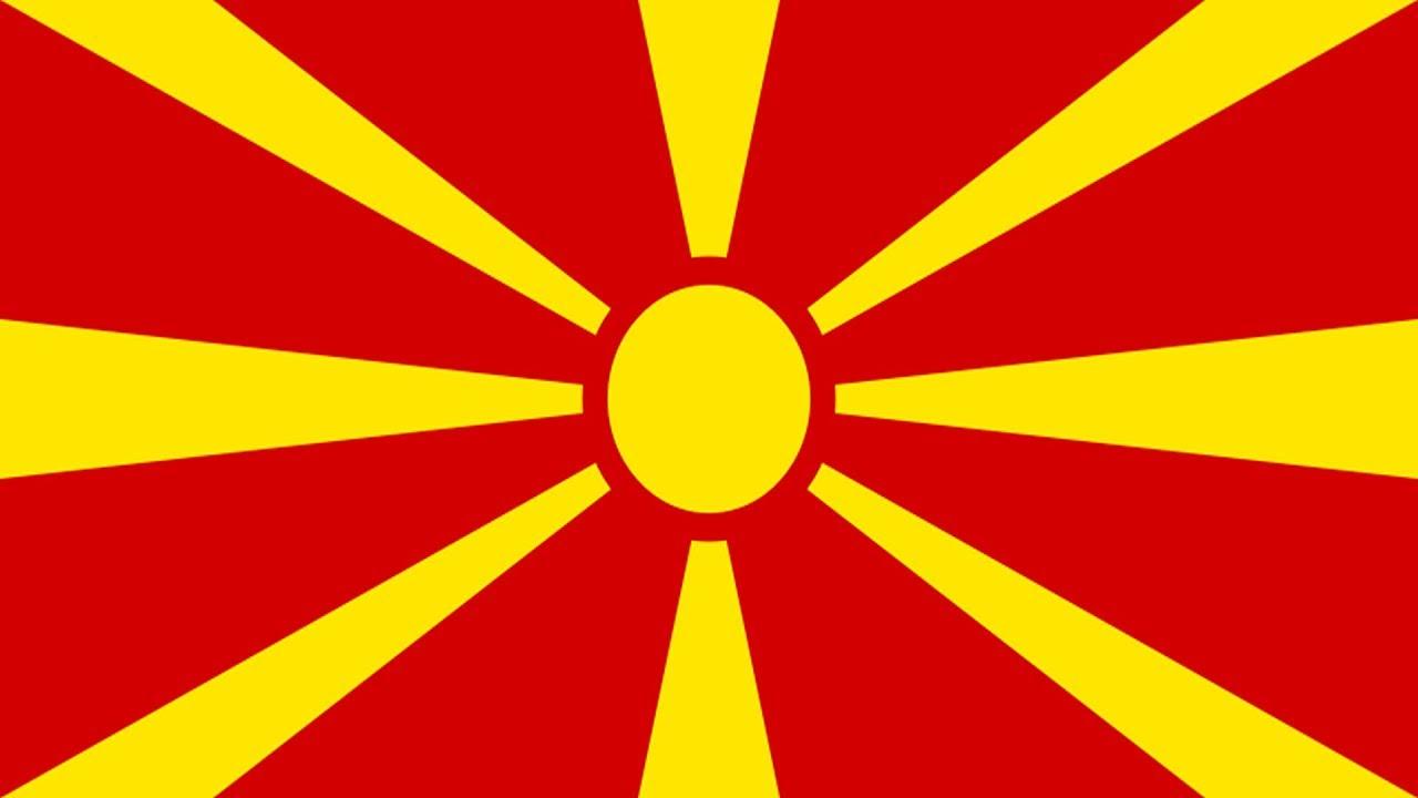 Resultado de imagen de bandera macedonio