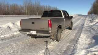 1998 chevy 350 vortec muffler delete loud outside drive by rev