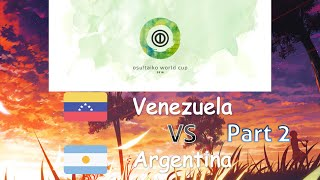 Osu Taiko World Cup 2016 Group Stage Group B Venezuela Vs Argentina Part 2