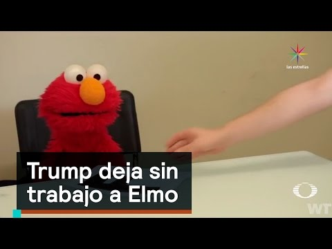 Trump deja sin trabajo a Elmo  Trump  Denise Maerker 10 en punto