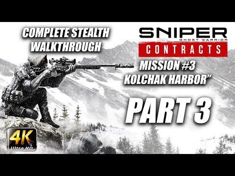 Sniper Ghost Warrior: Contracts | Complete Stealth Walkthrough | Deadeye | Part 3