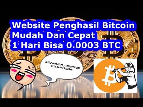 Terbaru,Website Penghasil Bitcoin Cara Mudah Dapat Bitcoin