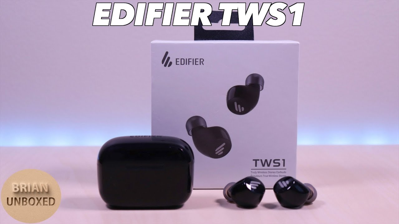 Edifier TWS1 Earbuds – Full Review & Microphone Sample