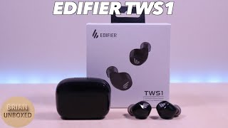 edifier TWS1 Earbuds - Full Review & Microphone Sample