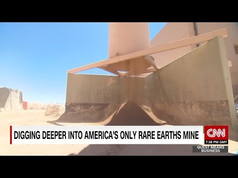 Digging deeper into the U.S.'s only rare earths mine