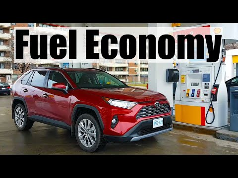 2020 Toyota RAV4 - Fuel Economy MPG Review + Fill Up Costs