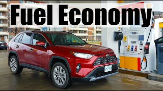 2019 Toyota RAV4 - Fuel Economy MPG Review + Fill Up Costs