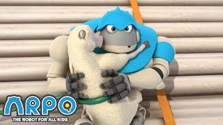 Arpo the Robot | Arpo and the Sheep | Best Moments | Funny Cartoons for Kids | Arpo and Daniel