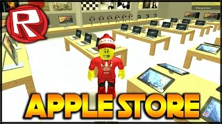 STAVÍME APPLE STORE!!! - Apple Store Tycoon | Roblox