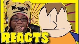 Bullying in The Halls Baldi's Basics Animation by YoruShika | Animation Reaction