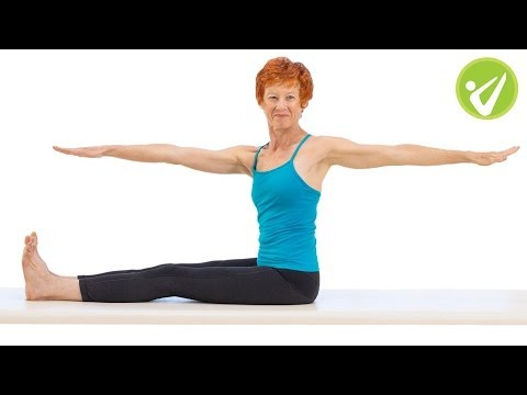 Spine Twist Pilates Exercise Adrianne Crawford