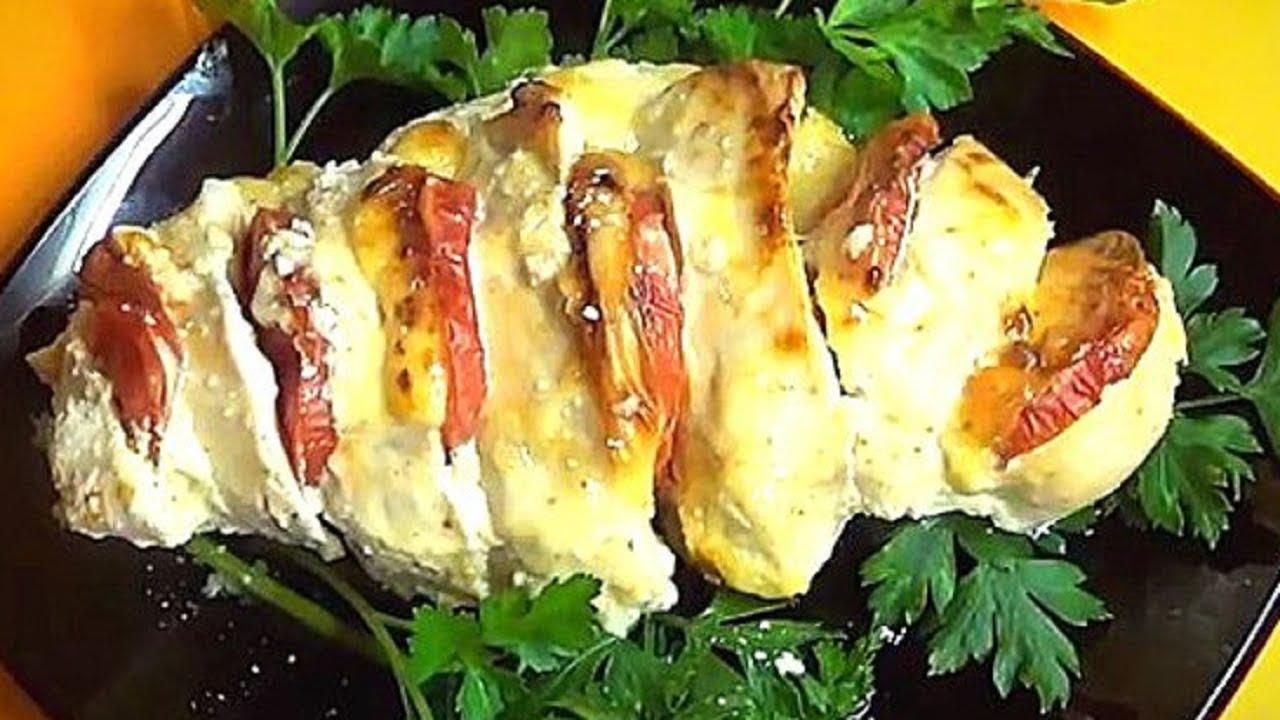 Рецепт приготовления куриной грудки в духовке
