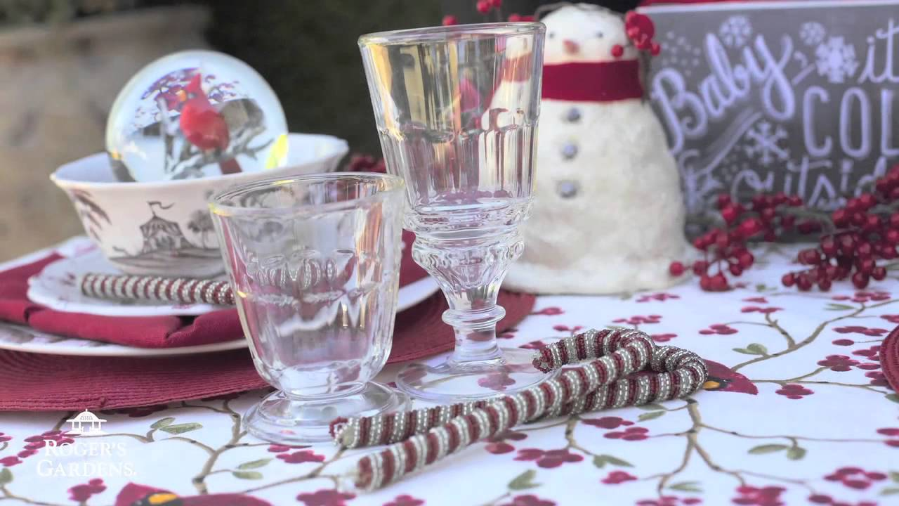 Decorating your home for christmas tablescapes and centerpieces with