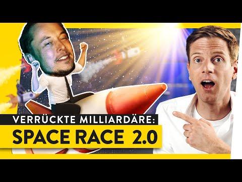 Space Race 2.0: Darum wollen Musk, Bezos und Co. ins All   WALULIS