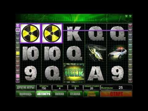 Обзор игрового автомата Incredible Hulk (Невероятный Халк) от производителя Playtech