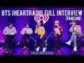 FULL INTERVIEW FANCAM BTS iHeartRadio Live 2020 LA KIISFM 200127 방탄소년단