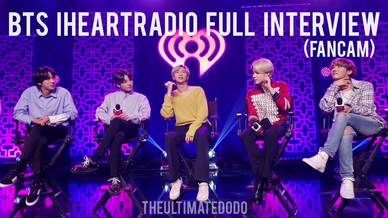 Download FULL INTERVIEW FANCAM BTS iHeartRadio Live 2020 LA KIISFM 200127 방탄소년단