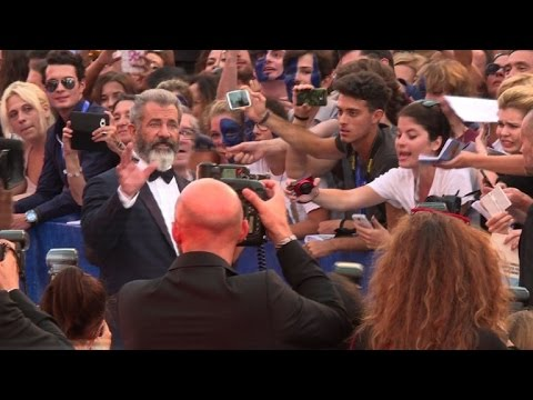 Mel Gibson unveils new film 'Hacksaw Ridge' at Venice festival