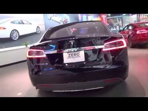 Tesla Motors at the Dadeland Shopping Center in Miami