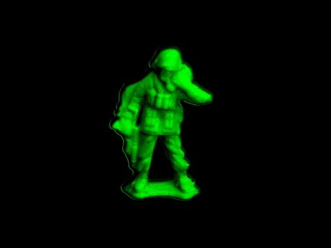 Molding and casting a Plastic army Soldier / Make Glow in the Dark Army Men At Home, DIY