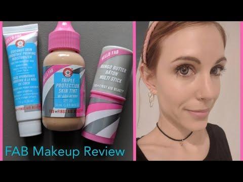 First Aid Beauty Makeup: Review/Demo (No-Makeup Makeup)