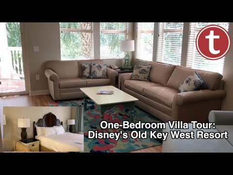 One-Bedroom Villa Tour: Disney's Old Key West Resort