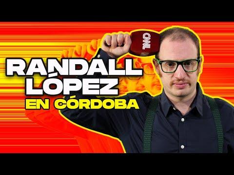 El Destape | Randall López en Cordoba: Parte 1