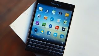 обзор BlackBerry Passport