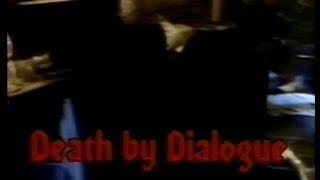Death by Dialogue (1988) Tales From the Script!