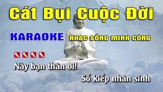 Cát Bụi Cuộc Đời Karaoke Nhạc Sống Hay Nhất ... Beat Nam